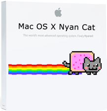 Mac OS X Nyan Cat