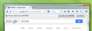 Screenshot of new behavior coming in Firefox 33