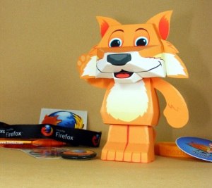 Paper Firefox!